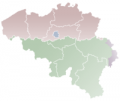 {{{naam}}} település helyzete Belgium térképén