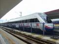 A vonalon közlekedő TCDD HT65000 sorozatúnagysebességű villamos motorvonat