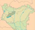 = Bakonyicum    = Pannonicum magyarországi része    = Pannonicum Magyarországon kívül eső része