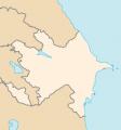 Azerbajdzsán elhelyezkedése